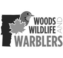 woods, wildlife, and warblers logo