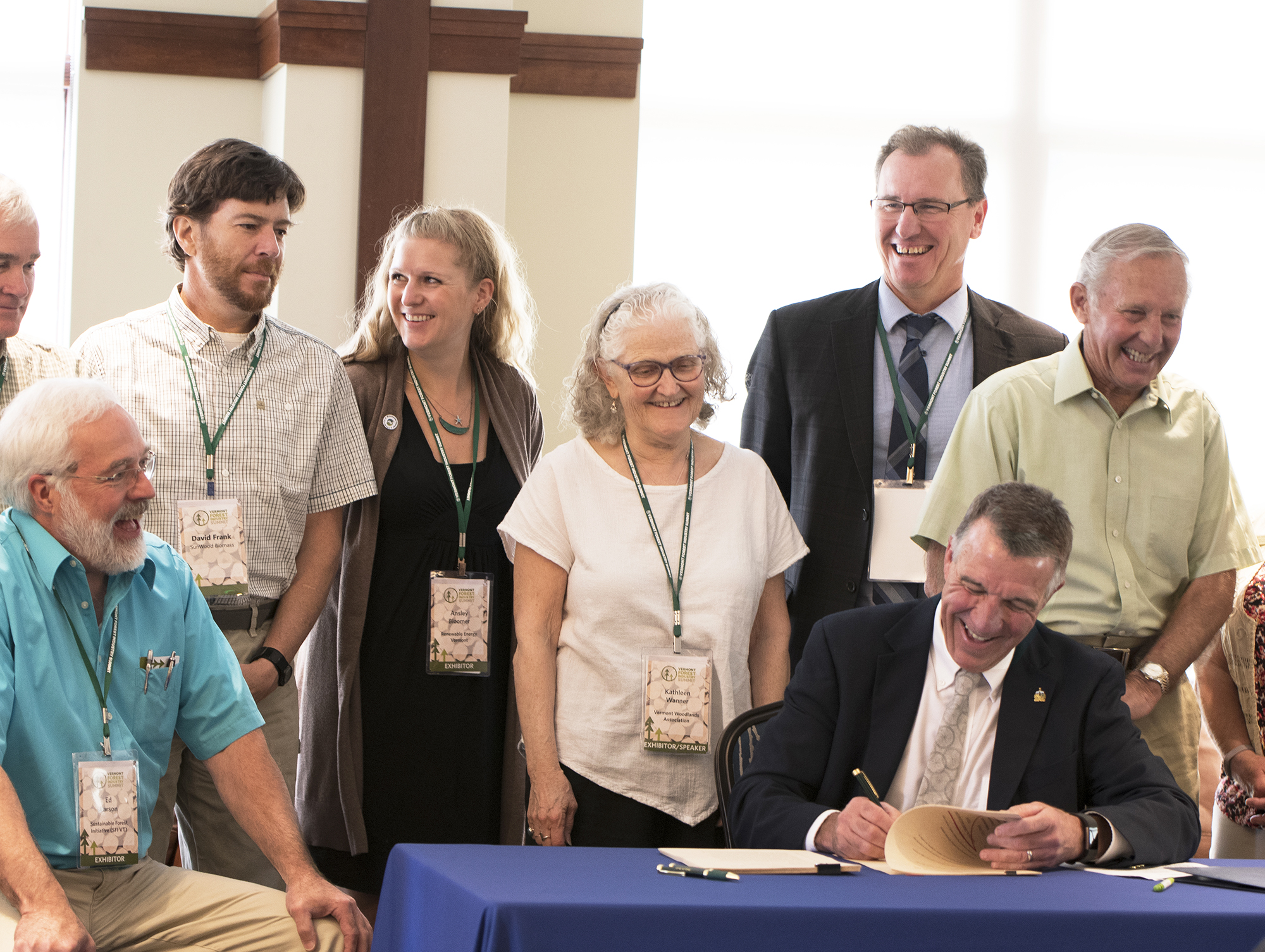 Bill signing with Shumlin