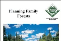 Planning family forests book cover