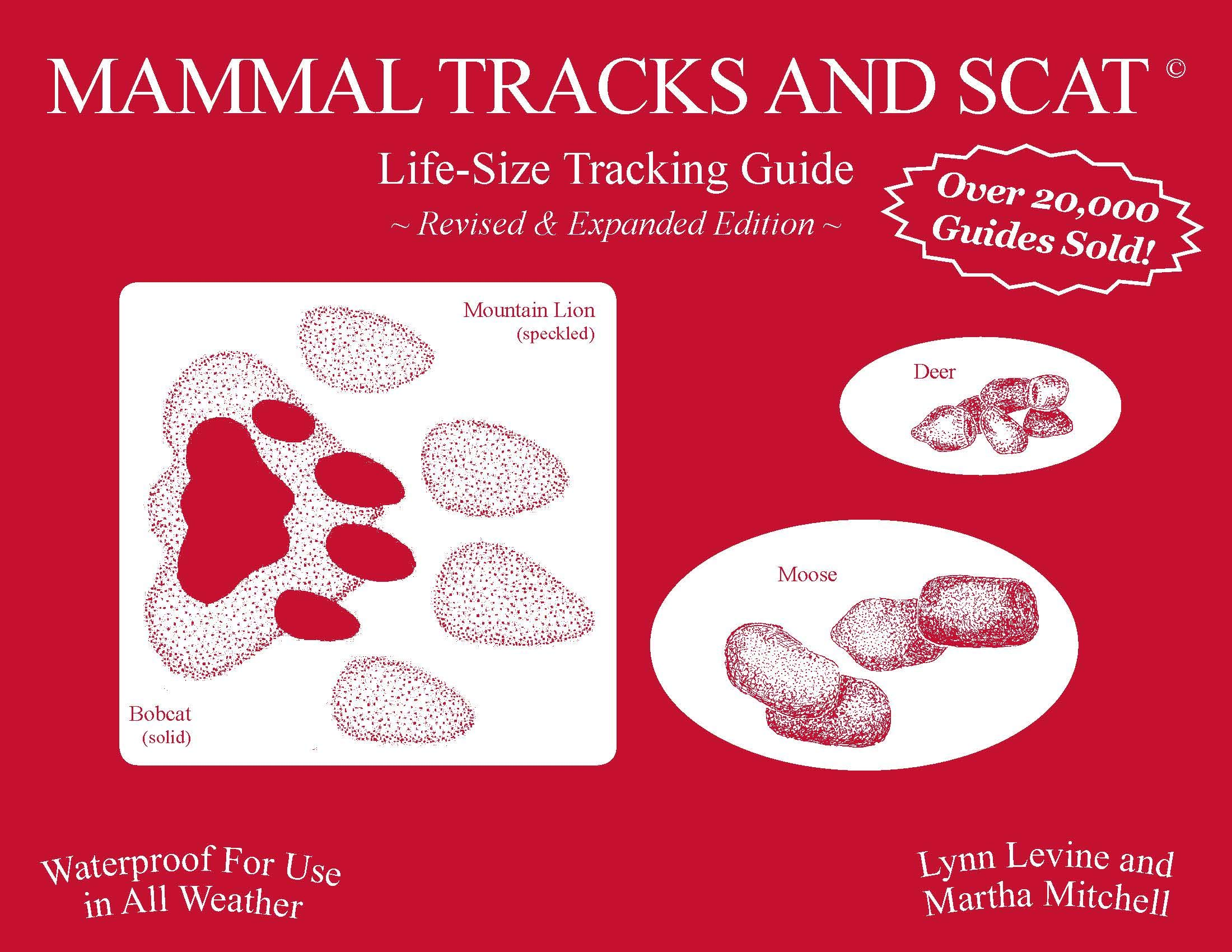 Animal Tracks and Scat book cover.