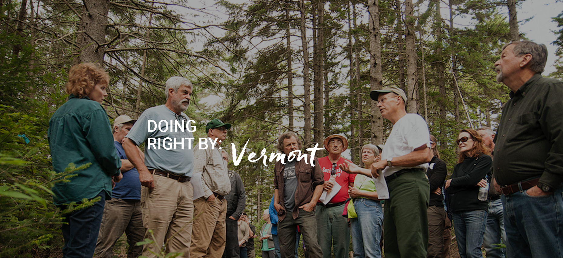 Doing Right By: Vermont Homepage slide