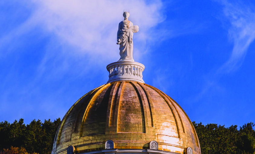 Image of Vermont State Dome and Ceres