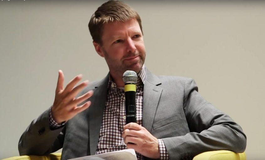 Award winning podcasterand author Tyler Green